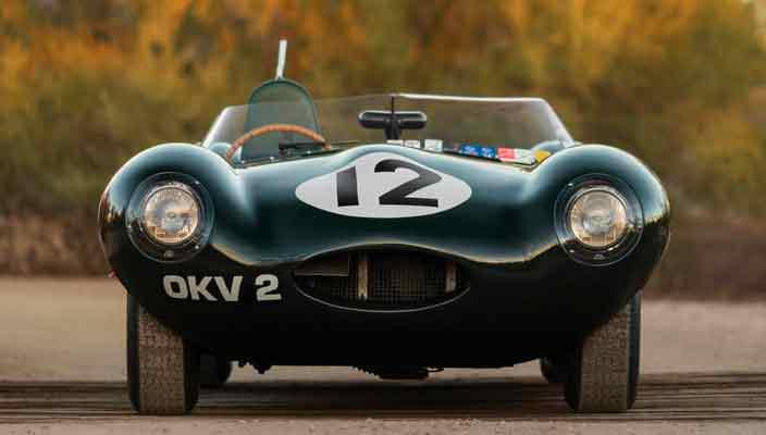 Участник Ле-Мана, Jaguar D-Type 1954 года уйдет за $12 млн
