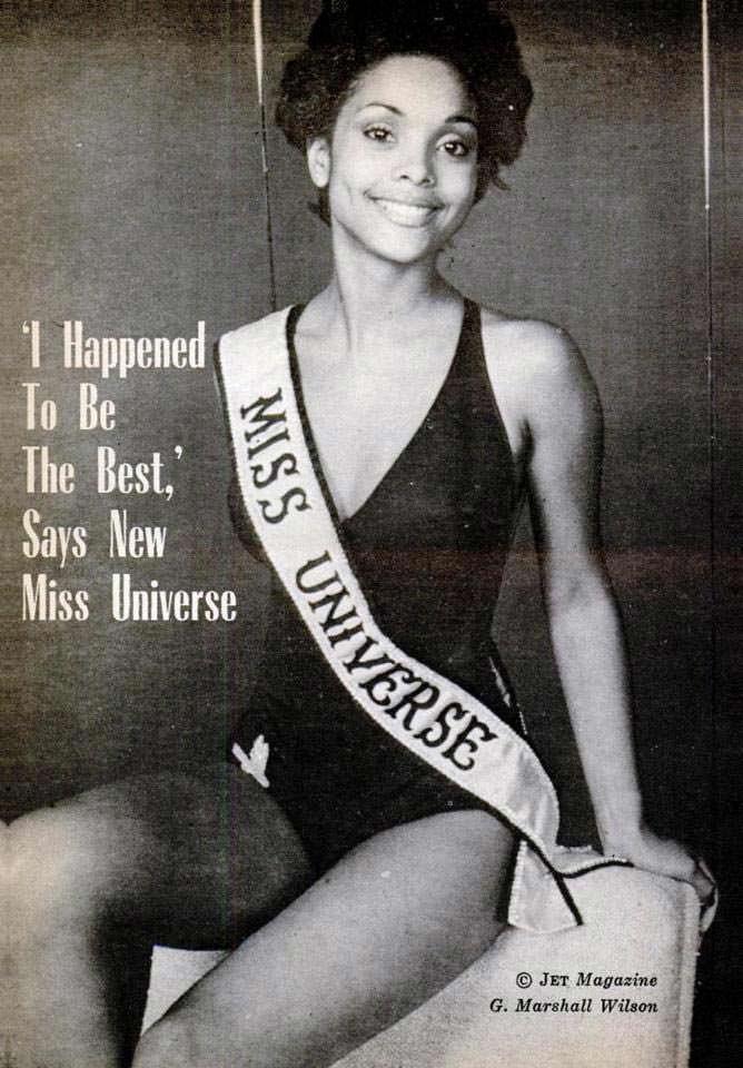 Мисс Вселенная 1977 для журнала