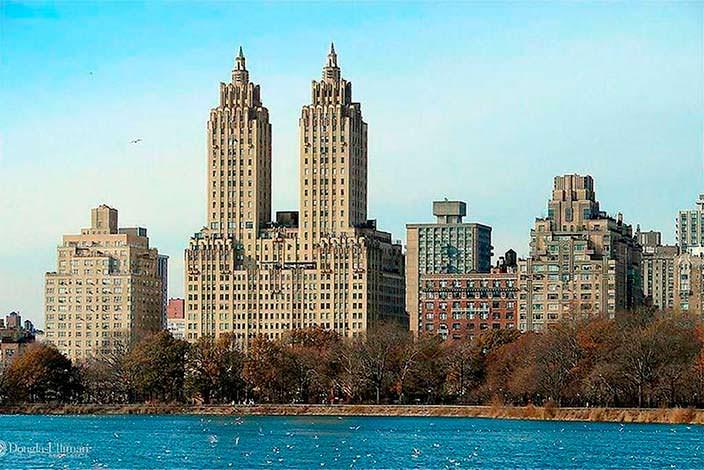 Здание в стиле ар-деко El Dorado 1931 года в Нью-Йорке