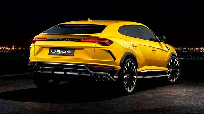Новый Lamborghini Urus 2018