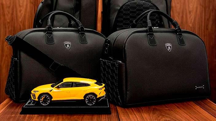 Фирменные дорожные сумки Lamborghini