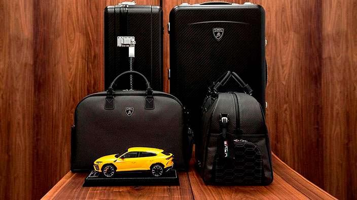 Фирменные аксессуары Lamborghini Urus
