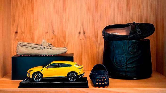 Фирменная одежда и аксессуары для покупателей Lamborghini Urus