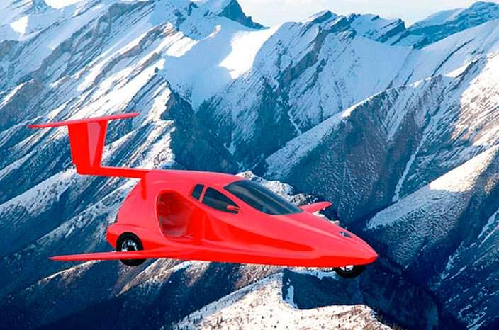 Спортивный летающий автомобиль от Samson Motors