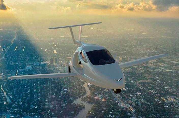 Летающий автомобиль Samson Switchblade: цена $120 000