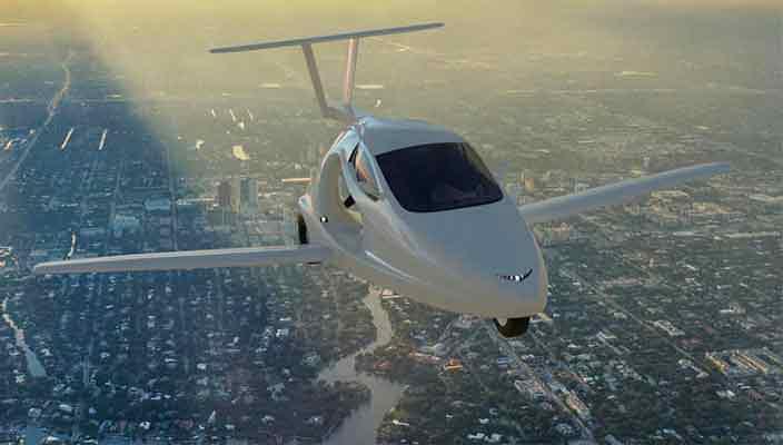 Samson Motors запустит летающий автомобиль в 2018 году | цена