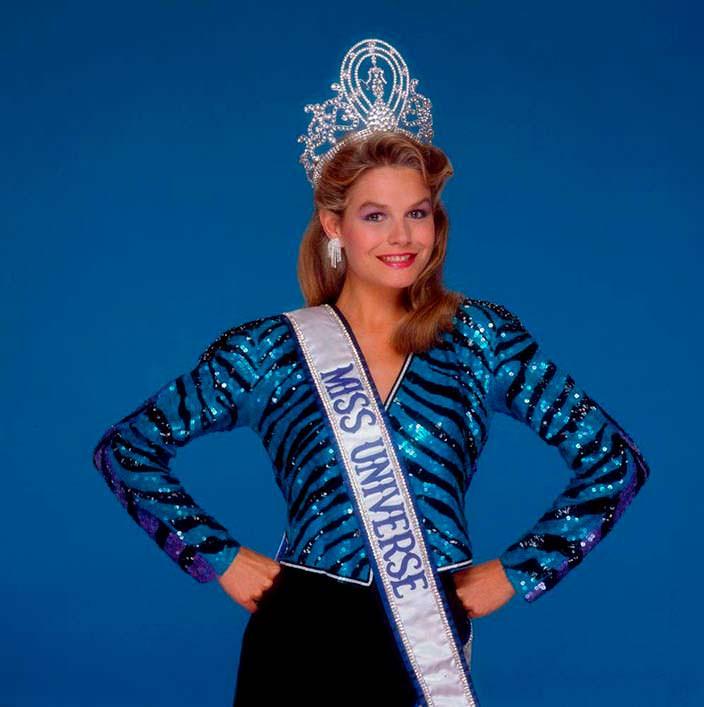 Лорейн Даунс - Мисс Вселенная из Новой Зеландии