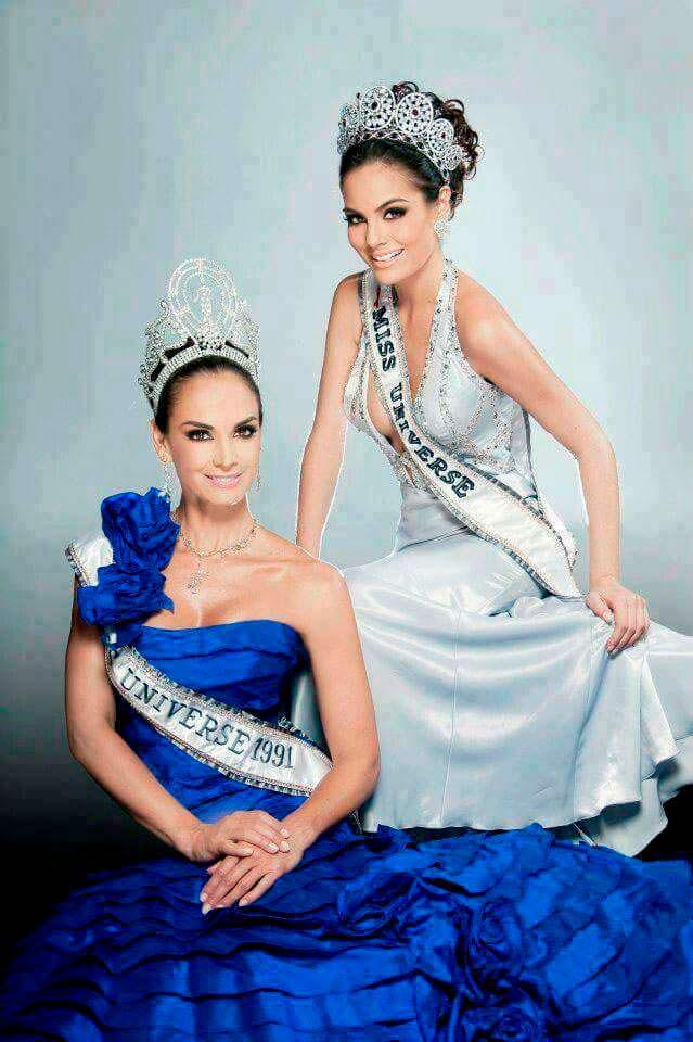 Лупита Джонс и Химена Наваррете: Мисс Вселенные из Мексики
