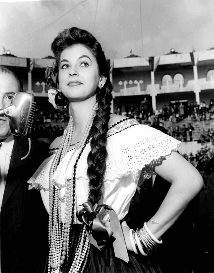 Лус Марина Сулуага - Мисс Колумбия 1957