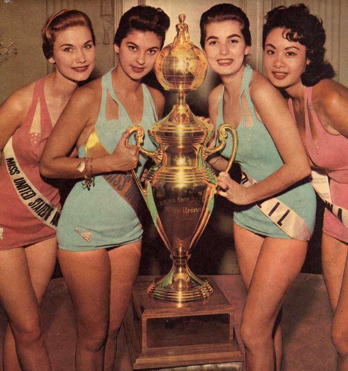 ТОП-4 «Мисс Вселенная 1958»