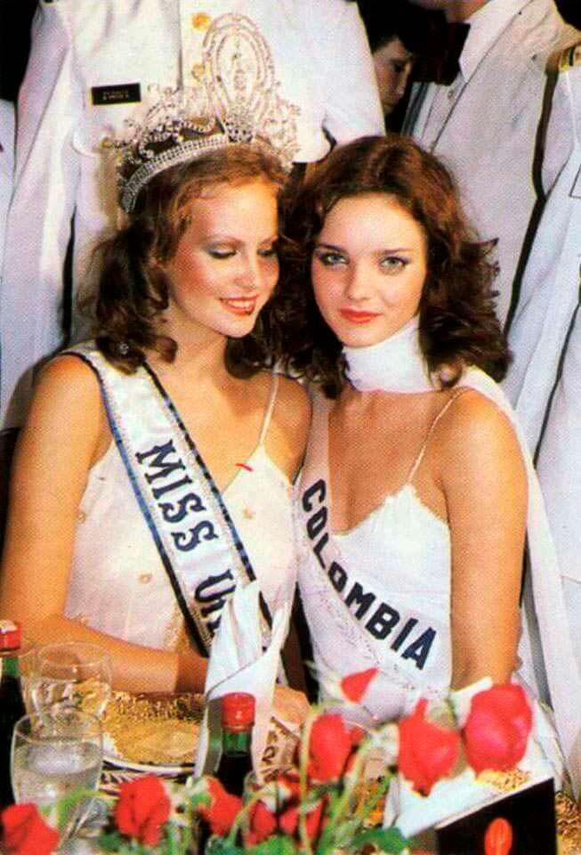 Мисс Вселенная 1978 и Мисс Колумбия