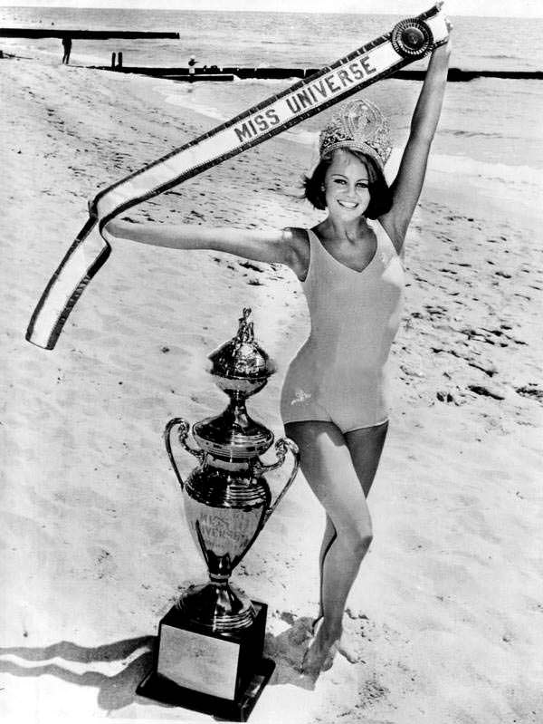 Маргарета Арвидссон - вторая победительница Мисс Вселенная от Швеции