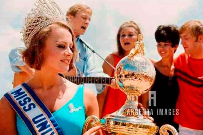 Маргарета Арвидссон - Мисс Швеция 1966