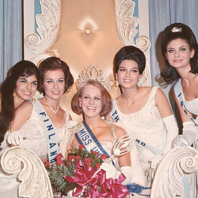 ТОП-5 «Мисс Вселенная 1966»