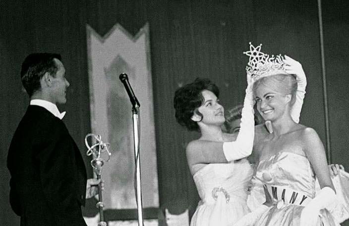 Марлен Шмидт и Линда Бемент. Победительницы Мисс Вселенная