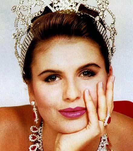 Мишель МакЛин - Мисс Намибия 1991