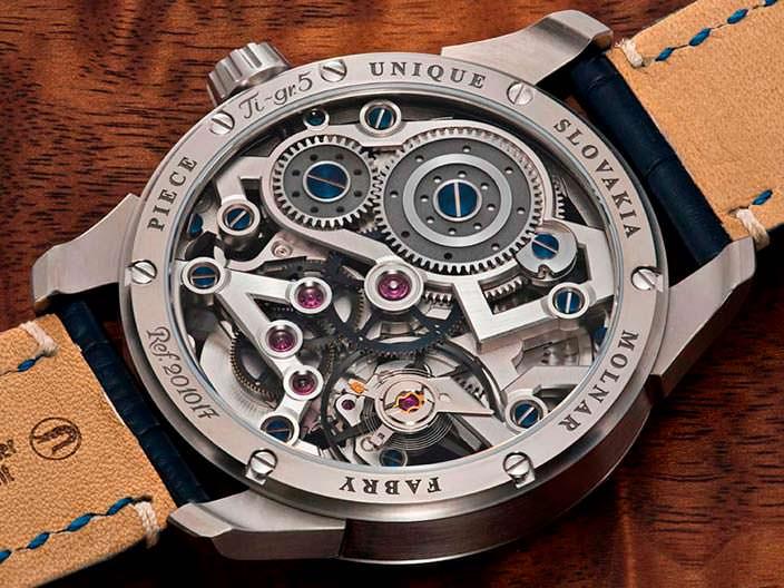 Словацкие часы из титана Molnar Fabry 911