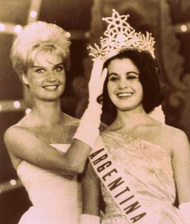 Марлен Шмидт и Норма Нолан - победительницы «Мисс Вселенная»
