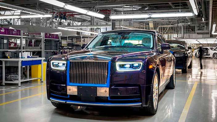 Первый серийный 2018 Rolls-Royce Phantom