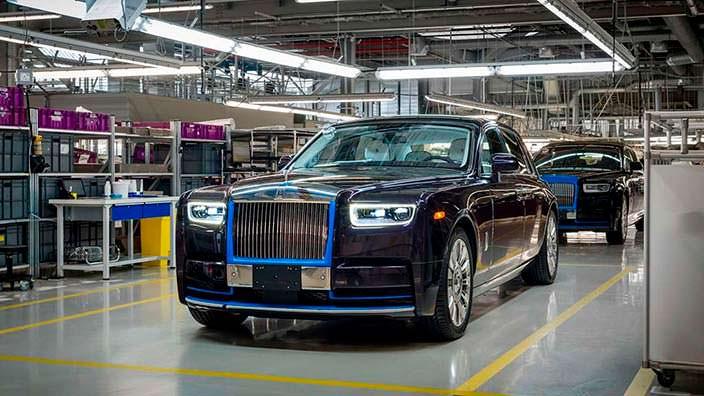 Первый серийный Rolls-Royce Phantom восьмого поколения