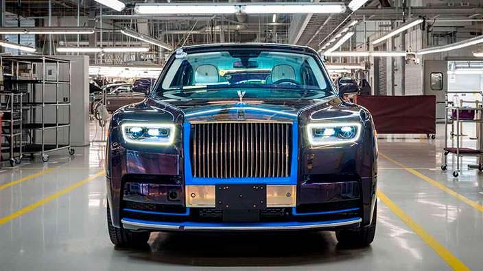 Первый серийный лимузин Rolls-Royce Phantom VIII