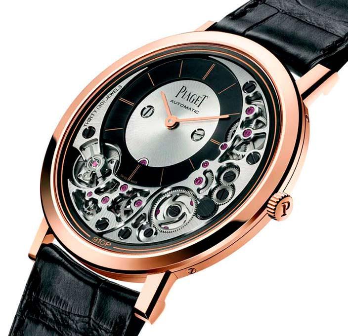Самые тонкие часы в мире Piaget Altiplano Ultimate 910P