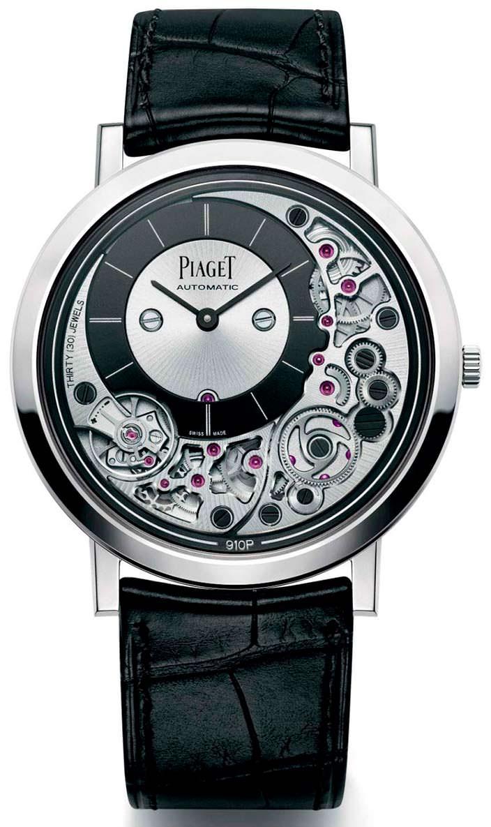 Тонкие наручные часы Piaget Altiplano Ultimate 910P