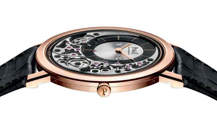 Piaget показал самые тонкие наручные часы в мире | цена, инфо