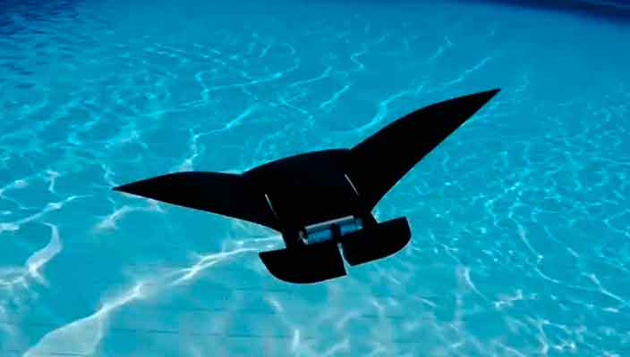 MantaDroid - самый быстрый подводный дрон в мире | видео