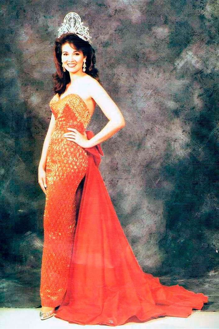 Порнтип Накирунканок - Мисс Таиланд 1988