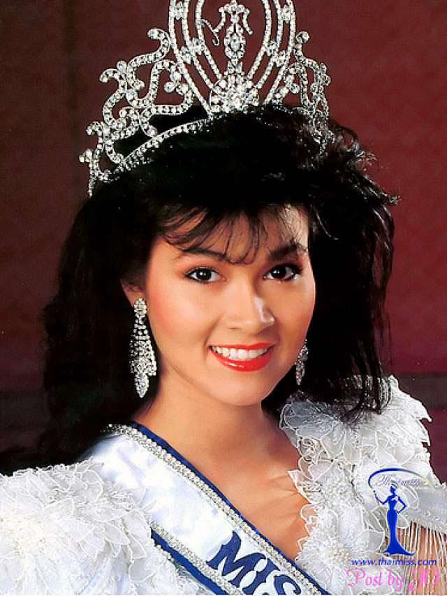 Порнтип Накирунканок - победительница «Мисс Вселенная 1988»