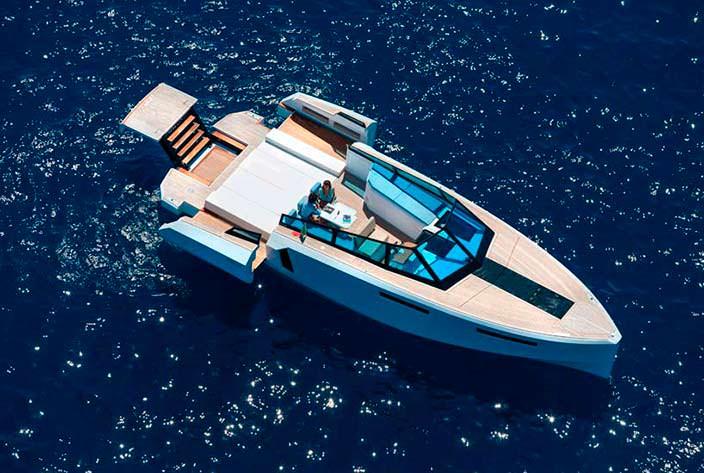 Катер-трансформер Evo 43 HT от WA Yachts