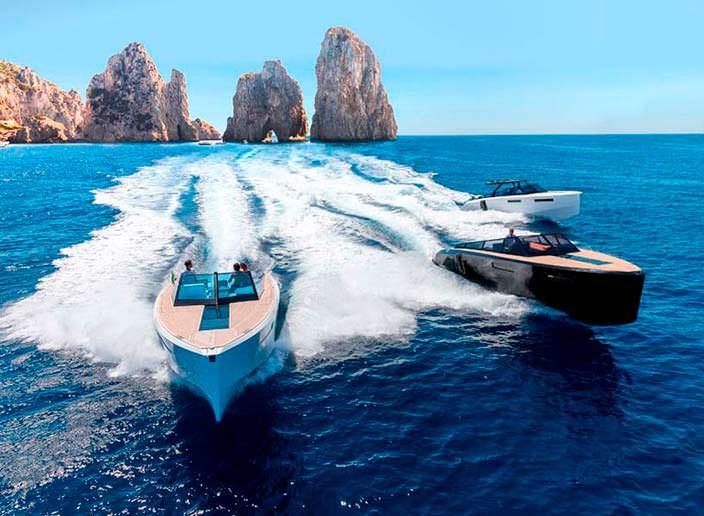 Прогулочный катер Evo 43 HT от WA Yachts