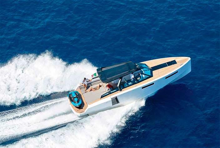 Трансформируемый катер Evo 43 HT от WA Yachts