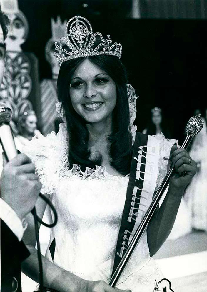 Рина Мессингер - победительница «Мисс Вселенная 1976»