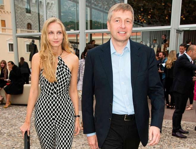 Дмитро Риболовлєв з дружиною Оленою
