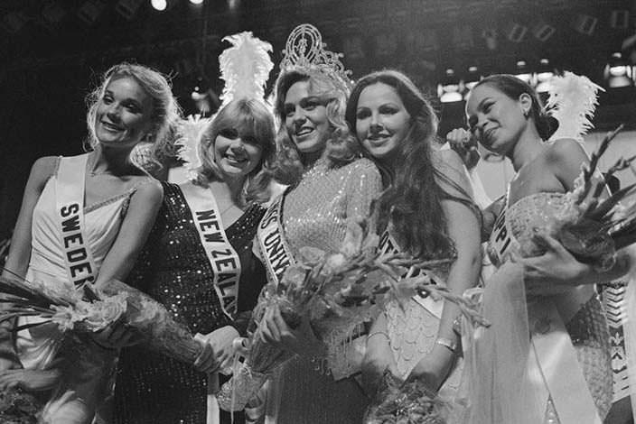 ТОП-5 конкурса «Мисс Вселенная 1980»