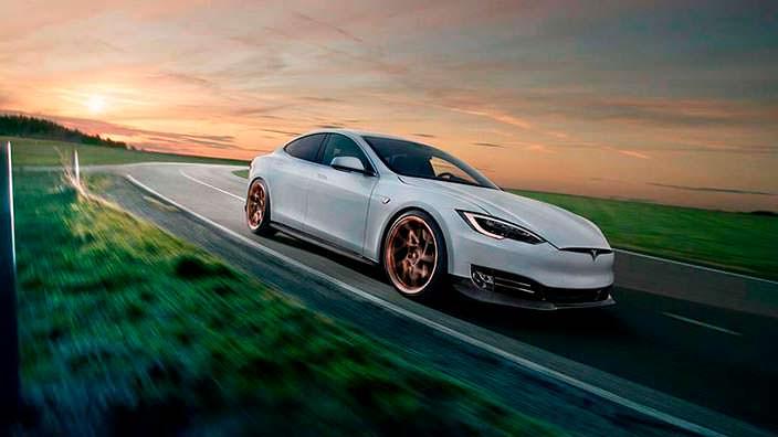 Тюнингованная Tesla Model S от Novitec