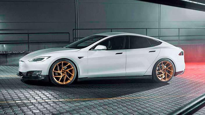 Новая Tesla Model S. Тюнинг от Novitec