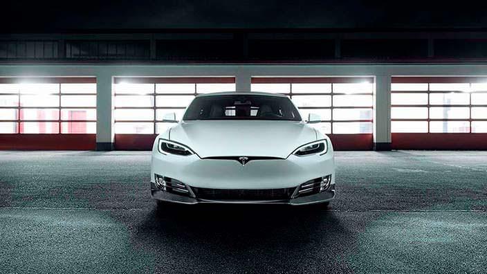 Фото Tesla Model S. Тюнинг от Novitec