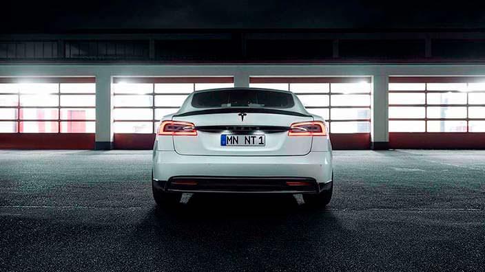Тюнинг Tesla Model S от Novitec