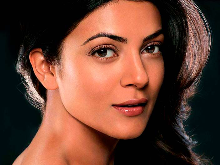 Индийская актриса Сушмита Сен