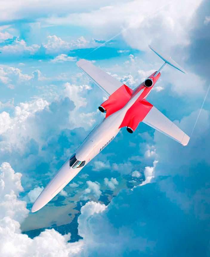 Сверхзвуковой бизнес-самолёт AS2 от Aerion и Lockheed Martin
