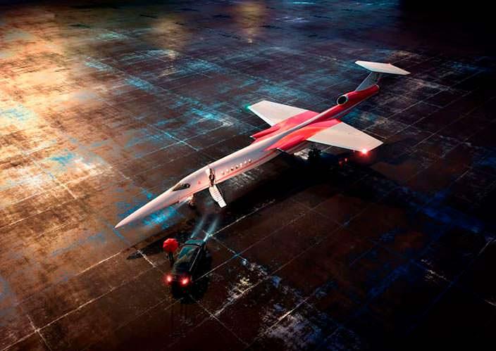 Сверхзвуковой пассажирский самолёт AS2 от Aerion