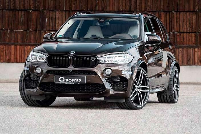 Коричневая BMW X5 M от G-Power