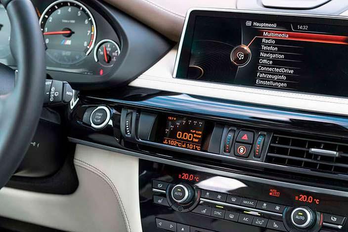 Фото салона BMW X5 M. Тюнинг от G-Power