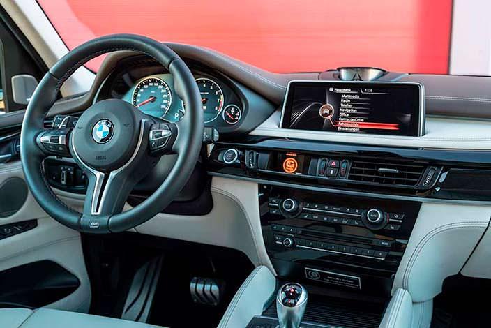 Салон BMW X5 M. Тюнинг от G-Power