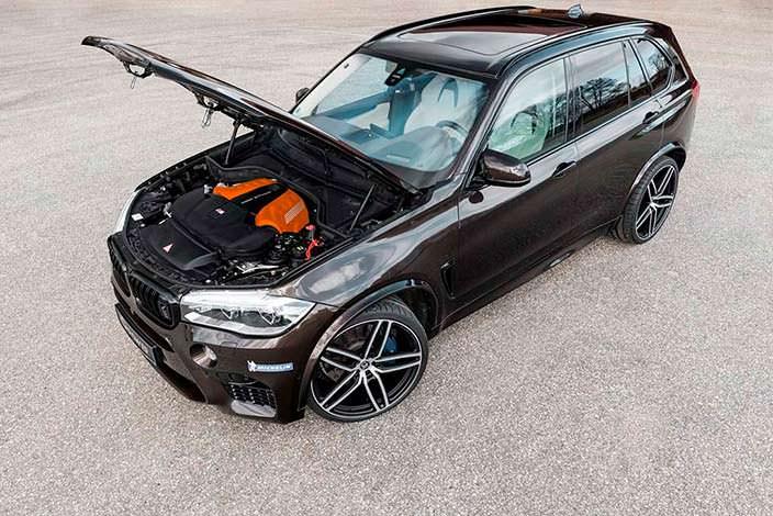 Новая BMW X5 M. Тюнинг от G-Power