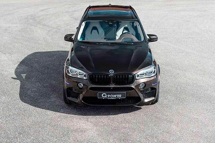Чёрная BMW X5 M. Тюнинг от G-Power