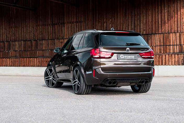 Горячий кроссовер BMW X5 M. Тюнинг от G-Power